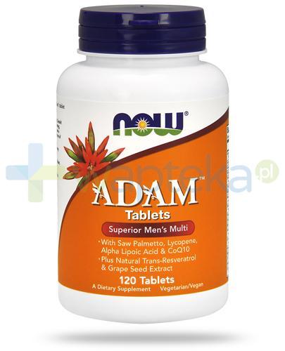 NOW Foods Adam 120 tabletek