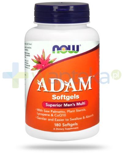 NOW Foods Adam 180 kapsułek