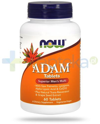 NOW Foods Adam 60 tabletek
