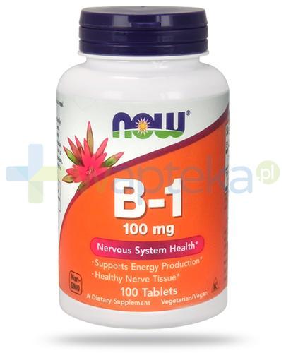 NOW Foods B-1 100mg 100 tabletek