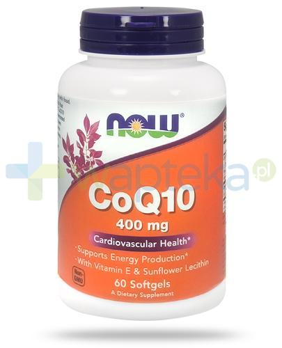 NOW Foods CoQ10 400mg 60 kapsułek