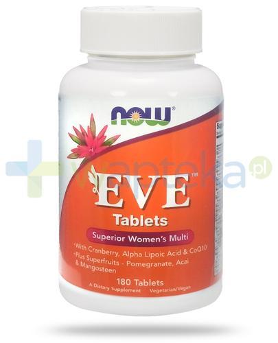 NOW Foods Eve 180 tabletek