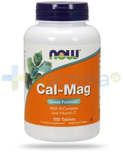 NOW Foods Cal-Mag Stress formula 100 tabletek