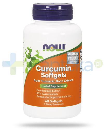 NOW Foods Curcumin ekstrakt 665mg 60 kapsułek