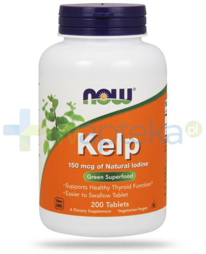 NOW Foods Kelp 150 mcg 200 tabletek