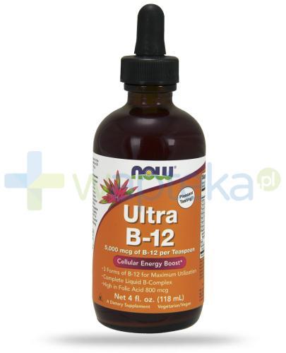 NOW Foods Ultra B-12 5000 mcg 118 ml