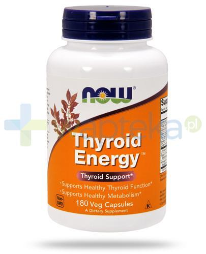 NOW Foods Thyroid Energy 180 kapsułek vege