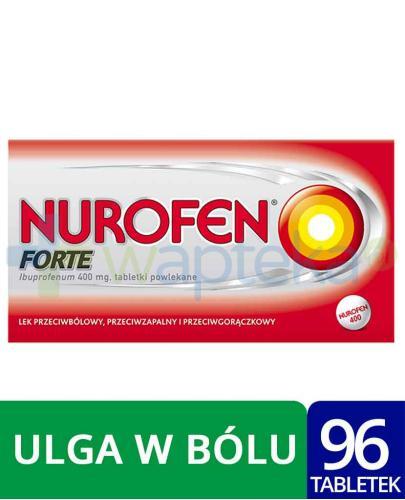 Nurofen Forte 400mg 2x 48 tabletek powlekanych [DWUPAK]
