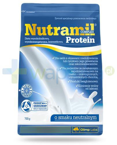 Nutramil Complex Protein preparat odżywczy o smaku neutralnym 700 g