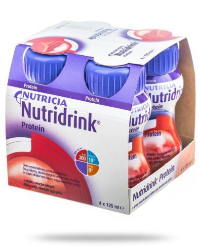 Nutridrink Protein smak owoców leśnych 4x 125 ml