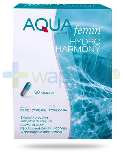 NutroPharma AQUAfemin Hydro Harmony ziolona kawa 60 kapsułek