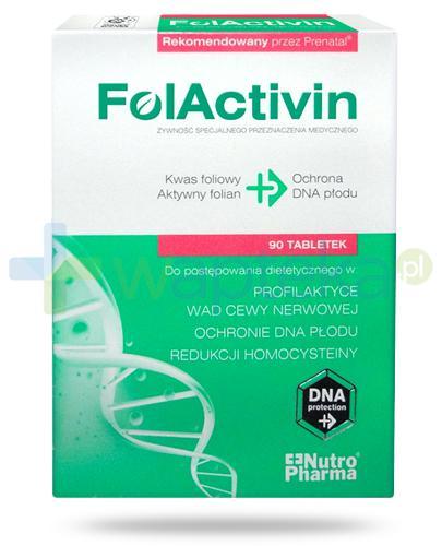 NutroPharma FolActivin kwas foliowy 90 tabletek