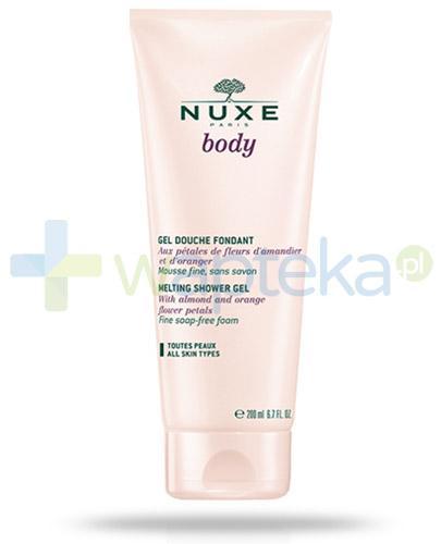 Nuxe Body kremowy żel pod prysznic 200 ml + Nuxe Płatki róży woda micelarna 100 ml [GRATIS]