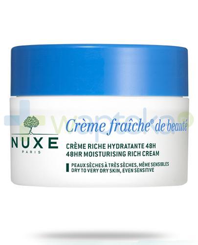 Nuxe Creme Fraiche de Beaute krem nawilżający o bogatej konsystencji 48h 50 ml