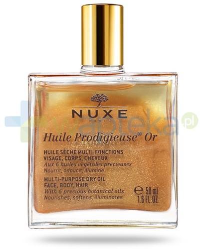 Nuxe Huile Prodigieuse OR olejek z drobinkami złota i witaminą E 50 ml STARA KARTA