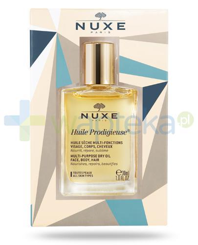 Nuxe Huile Prodigieuse suchy olejek do pielęgnacji twarzy, ciała i włosów 30 ml [Wydanie świąteczne]