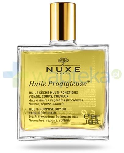Nuxe Huile Prodigieuse suchy olejek do pielęgnacji twarzy, ciała i włosów 50 ml STARA KARTA