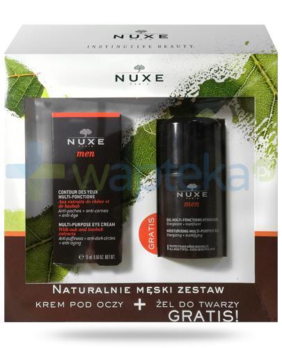 Nuxe Men, zestaw naturalnie męski [ZESTAW] + Nuxe Płatki róży woda micelarna 100 ml [GRATIS]