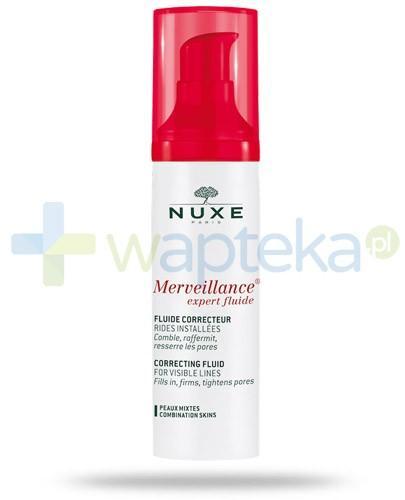 Nuxe Merveillance Expert Fluide preparat przeciwzmarszczkowy dla skóry mieszanej 50 ml