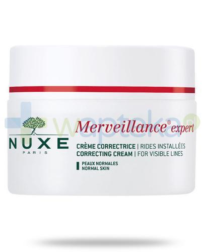 Nuxe Merveillance Expert krem korygujący zmarszczki skóra normalna 50 ml