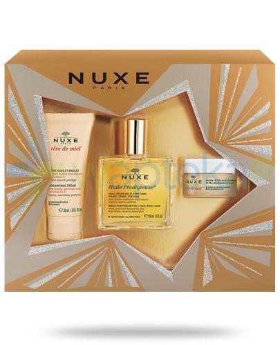 Nuxe My Dream Set kompozycja kosmetyków 3 sztuki [ZESTAW] + Nuxe Płatki róży woda micelarna 100 ml [GRATIS]