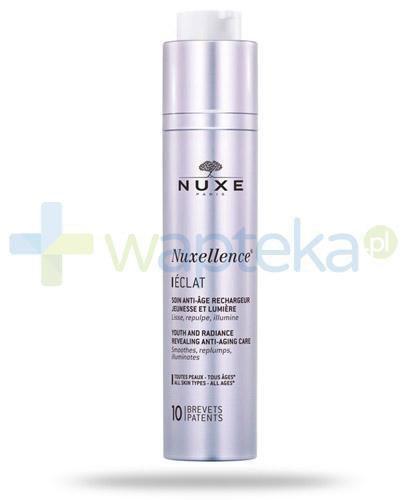 Nuxe Nuxellence Eclat fluid odsłaniający młody wygląd i blask skóry 50 ml + Nuxe PRODIGIEUX olejek pod prysznic 100ml [GRATIS]
