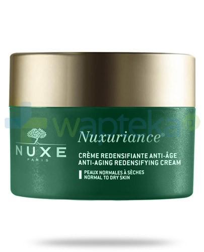 Nuxe Nuxuriance krem przeciwzmarszczkowy przywracający gęstość skóry normalnej i suchej 50 ml