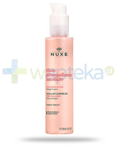 Nuxe Płatki róży olejek micelarny do demakijażu 150 ml