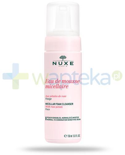 Nuxe Płatki róży pianka micelarna do oczyszczania twarzy 150 ml