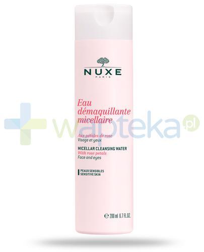Nuxe Płatki róży woda micelarna 200 ml [Data ważności 31-01-2019]