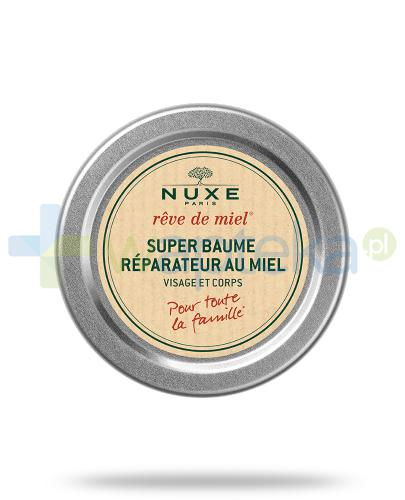Nuxe Reve de Miel balsam regeneracyjny SOS z miodem 40 ml + Nuxe Płatki róży woda micelarna 100 ml [GRATIS]