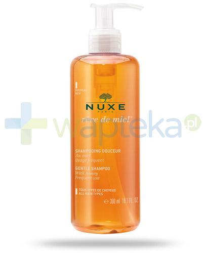 Nuxe Reve De Miel łagodny szampon do włosów 300 ml + Huile Prodigieuse olejek 5ml [GRATIS]