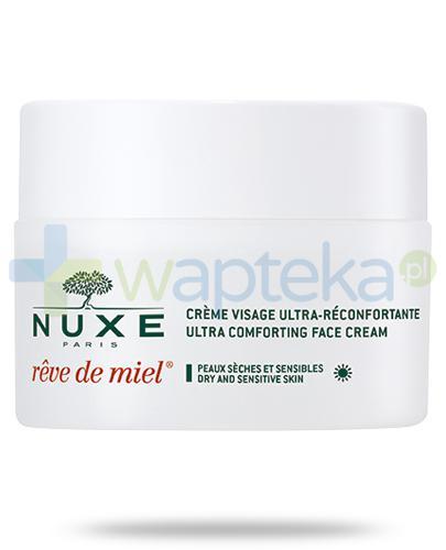 Nuxe Reve de Miel ultrakomfortowy krem do twarzy na dzień 50 ml