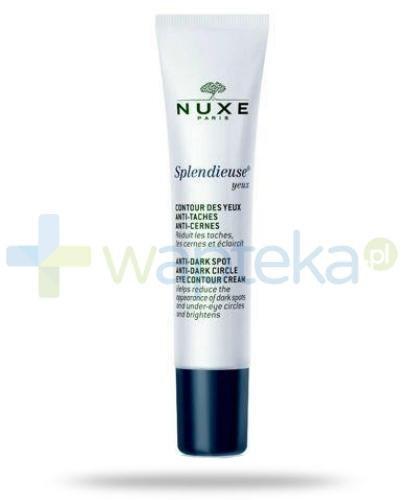 Nuxe Splendieuse Yeux krem pod oczy 15 ml + Nuxe Płatki róży woda micelarna 100 ml [GRATIS]