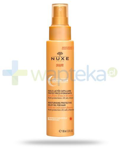 Nuxe Sun nawilżający mleczny olejek do włosów 100 ml