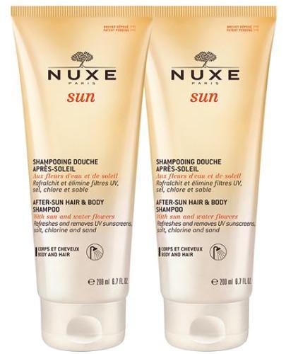Nuxe Sun pielęgnacyjny żel pod prysznic po opalaniu 2x 200 ml [DWUPAK]