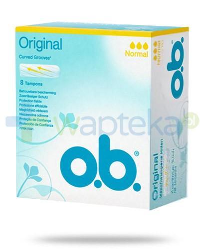 OB Original Normal tampony higieniczne 8 sztuk