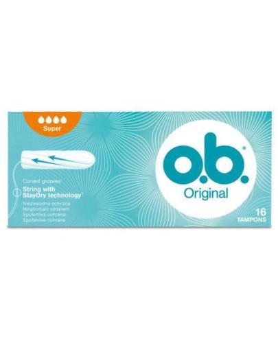 OB Original Super tampony higieniczne 16 sztuk