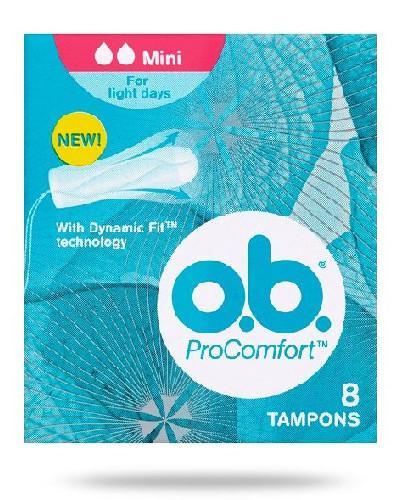 OB ProComfort Mini tampony higieniczne 8 sztuk