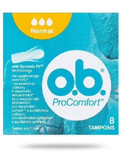 OB ProComfort Normal tampony higieniczne 8 sztuk