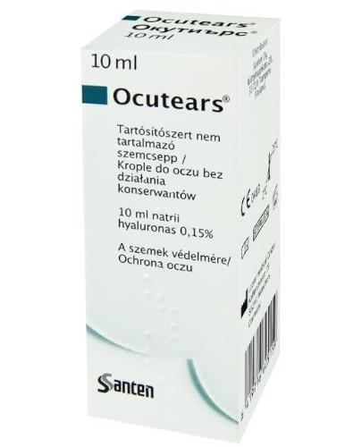 Ocutears 0,15% krople do oczu 10 ml