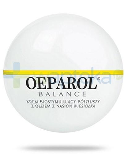 Oeparol Balance krem biostymulujący półtłusty 50 ml + masło do ciała z ceramidami 200 ml GRATIS!