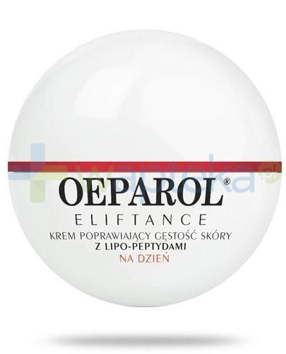 Oeparol Eliftance 50+ krem poprawiający gęstość skóry z lipo-peptydami na dzień do skóry normalnej i mieszanej 50 ml + masło do ciała z ceramidami 200 ml GRATIS!
