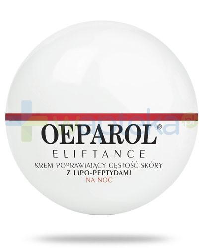 Oeparol Eliftance 50+ krem poprawiający gęstość skóry z lipo-peptydami na noc 50 ml + masło do ciała z ceramidami 200 ml GRATIS!