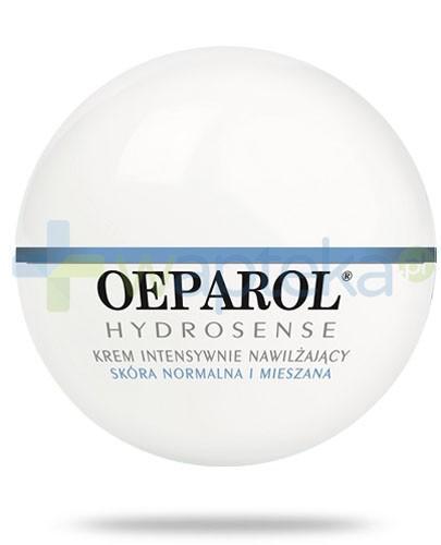 Oeparol Hydrosense ochronny krem intensywnie nawilżający do skóry normalnej i mieszanej 50 ml + masło do ciała z ceramidami 200 ml GRATIS!