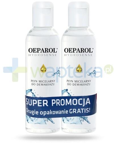 Oeparol Hydrosense płyn micelarny do demakijażu 2x 200 ml