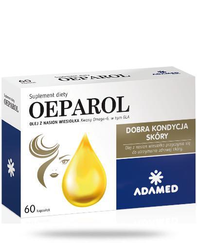 Oeparol olej z nasion wiesiołka 60 kapsułek