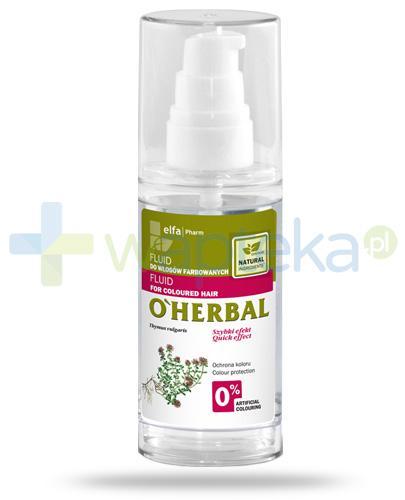 O'Herbal fluid do włosów farbowanych z ekstraktem z macierzanki tymianku 50 ml Elfa Pharm