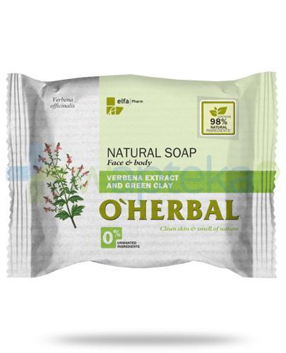 O'Herbal naturalne mydło z ekstraktem z werbeny i zieloną glinką 100 g Elfa Pharm