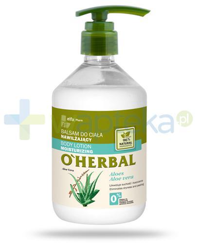 O'Herbal nawilżający balsam do ciała z ekstraktem z aloesu 500 ml Elfa Pharm